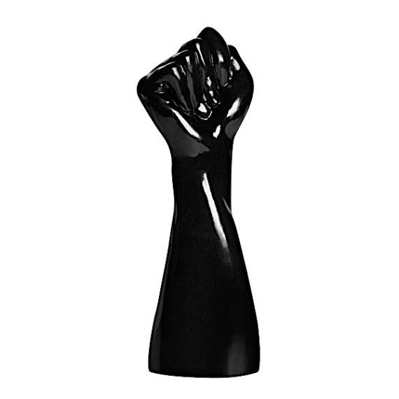 Rise Up Black PVC Fist