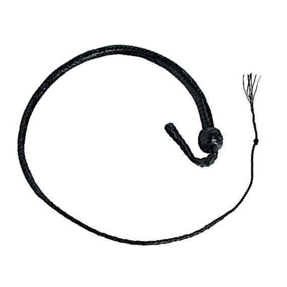 3 Foot Snakewhip 12 Plait - Black