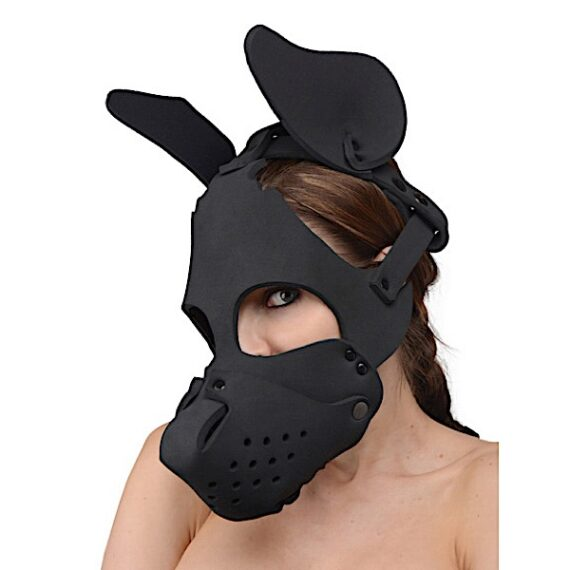 Neoprene Dog Hood with Removable Muzzle