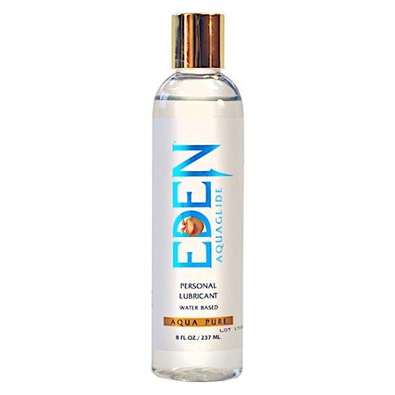 Eden Aqua Pure 8oz Water Based Lubricant