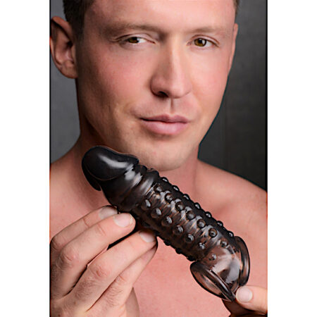 1.5 Inch Penis Enhancer Sleeve - Smoke