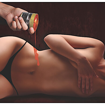 Fever Hot Wax Candle - Red
