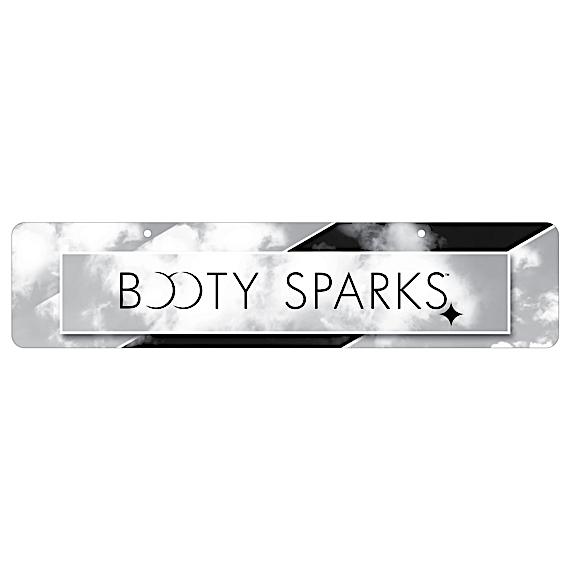 Booty Sparks Display Sign