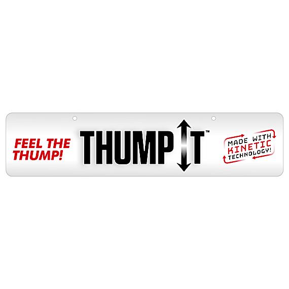 Thump It Display Sign