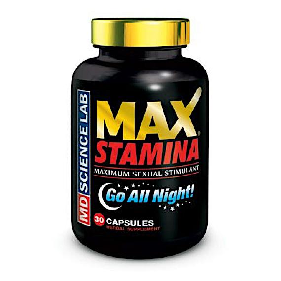 MaxStamina - Maximum Sexual Stimulant - 30 Capsules
